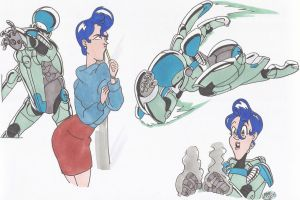 BubblegumCrisis_Doodles_05_mar2015 by AlexBaxtheDarkSide
