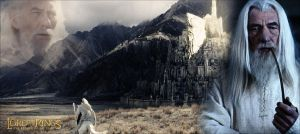 Return to Minas Tirith by YoungPhoenix3191