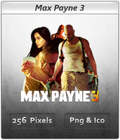 Max Payne 3 - Icon 2 by Crussong