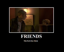 BBC Sherlock - Friends by FultNamn