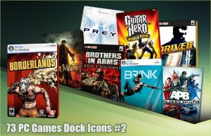 73 PC Games Dock Icons 2 by molobakk