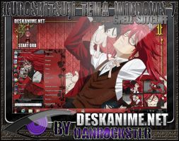 Grell Sutcliff Theme Windows 7 by Danrockster