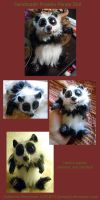 Panda Doll by Fyrecalla