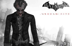 Batman Arkham City FanPoster - The Joker by Postmortacum