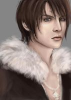 quick doodle : Squall Leonhart by kisshaido