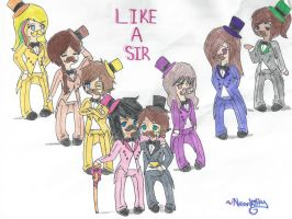 Like a Sir .:Ninjago OC group:. by K0MPY