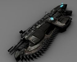 Gears of War Lancer by Trekkie5000