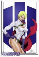 Michael bair Powergirl - colored by yatz