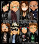 Guns n Roses 2013 by CherylCAT