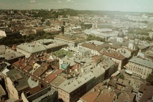 Lviv from above 8 by julismith