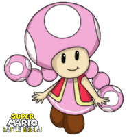 Toadette by webkinzspongebob