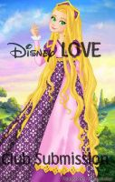 Rapunzel Gown - LadyAmber by Disney-Love
