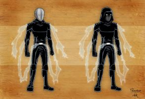 The Spectre - character design by Studio-Ark