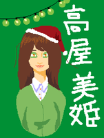 Super Late Secret Santa - Miki Takaya by StarfruitSaii