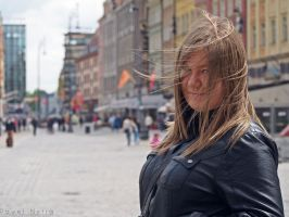 Ania in Wroclaw by COREnick