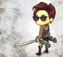 B.A.P Jongup x Attack on Titan by jinscloud