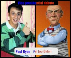 Vice presidential debate by Foxeyes32