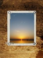 Framed Sunset by UNBREAKABLE2005