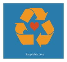 Recyclable Love by toonrama