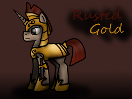 Rusted Gold by FadedBloodStain