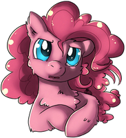 Commission - Fluffy Pinkie by xNIR0x