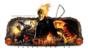 Sign Ghost Rider by Designer-Lazy