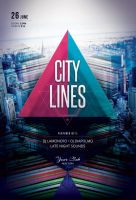 City Lines Flyer by styleWish