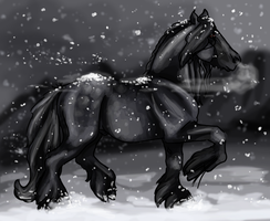 First Day of Winter by saffron-gryphon
