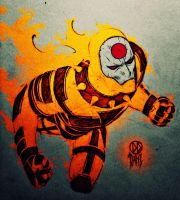 Age of Apocalypse: Sunfire by DanielDahl