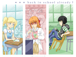 school time! by mistyblossoms