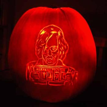 Sirius Black Jack O'Lantern by comicalclare