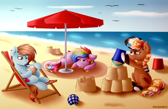 At The Beach by Spirit-Dude