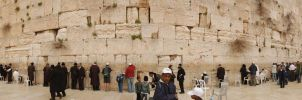 Western Wall - Panoram by Viperium