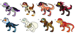 OPEN | Fanglings Adoptables | Name Your Price by lit-nebulosa