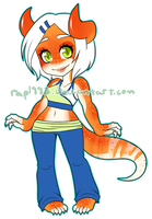 ThatOneCat Custom Adopt Commission by rap1993