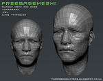 Free Head Base Mesh by MrNinjutsu