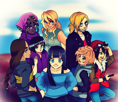 Disappointingly small group shot by Punkichi