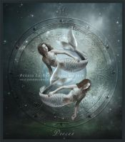 Zodiac Pisces by ThelemaDreamsArt