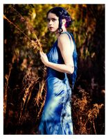 Blue Silk Sheathe 10 by MordsithCara