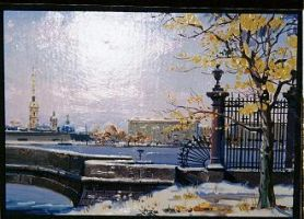 St. Petersurg painting by MarinaMoon