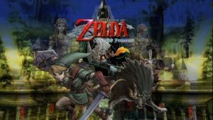 Legend of Zelda Twilight Princess Background by infersaime