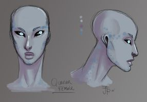 Quarian Female concept by Gone-Batty