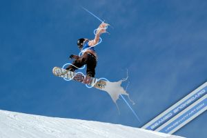 Beamed snowboard by wellgraphic