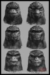 Face Expression of Godzilla by cheungchungtat