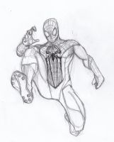 Spidey Sketch by ConstantM0tion