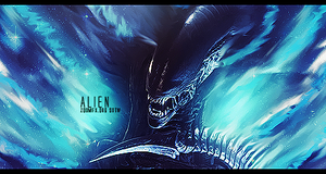 Alien Smudge Signature by kimiFelnas