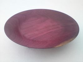 fruitplate in purpleheart by Nautilus78