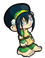 Toph Sticker by JoeOiii