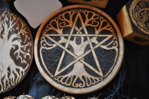 Tree of life pentacle by IlfusodellaStrega