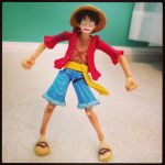 My Luffy figure by Link-Pikachu